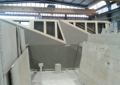 Cyclopic wall Dubai - Construction detail