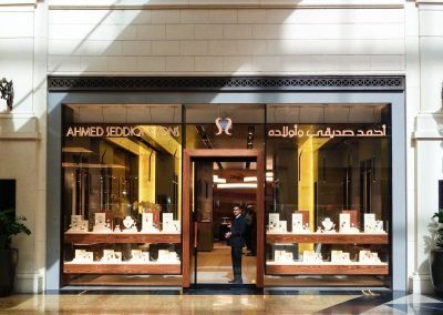 Dubai private client - MoE shopfront