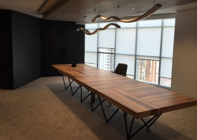 Meeting table and small room