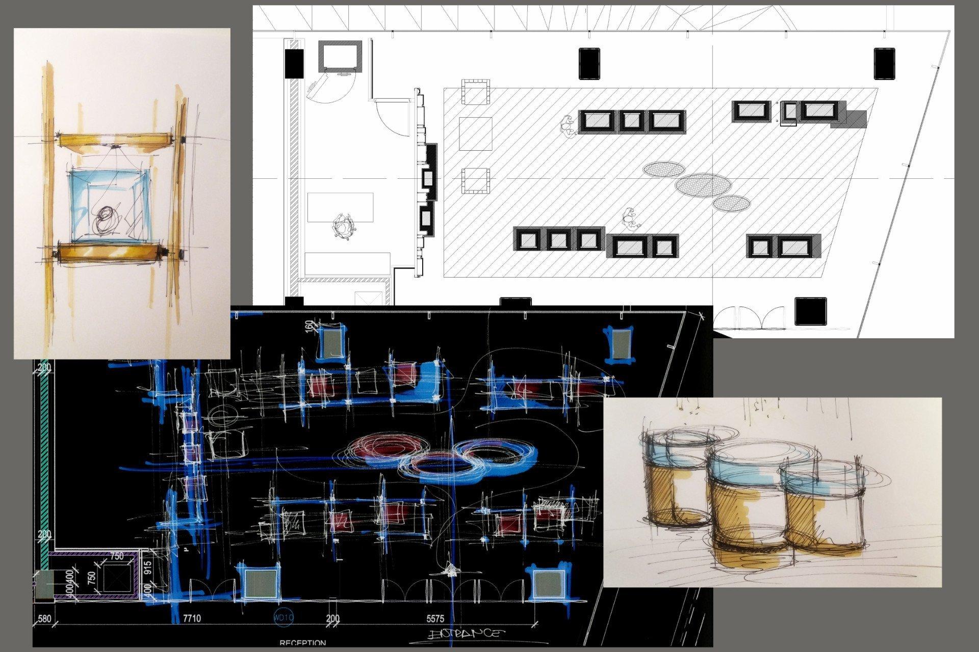Exibithion space - proposals.