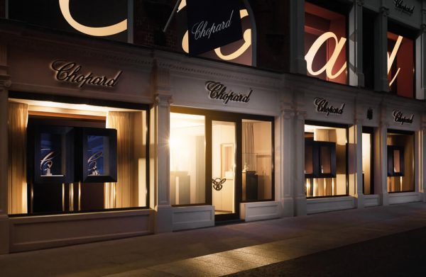 Chopard London Boutique Outside