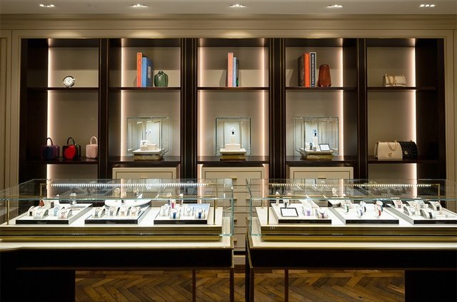 Chopard London Boutique inside